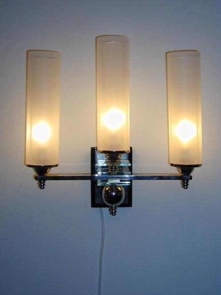 Art Deco Wandlampen neu restauriert