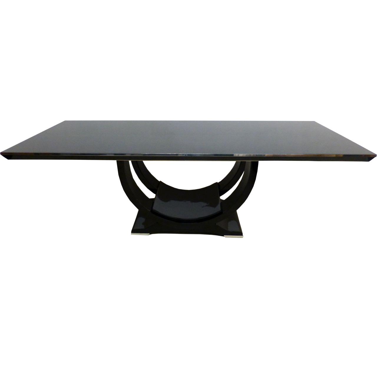 3151 Art Deco Tisch in großer und schwerer Ausführung