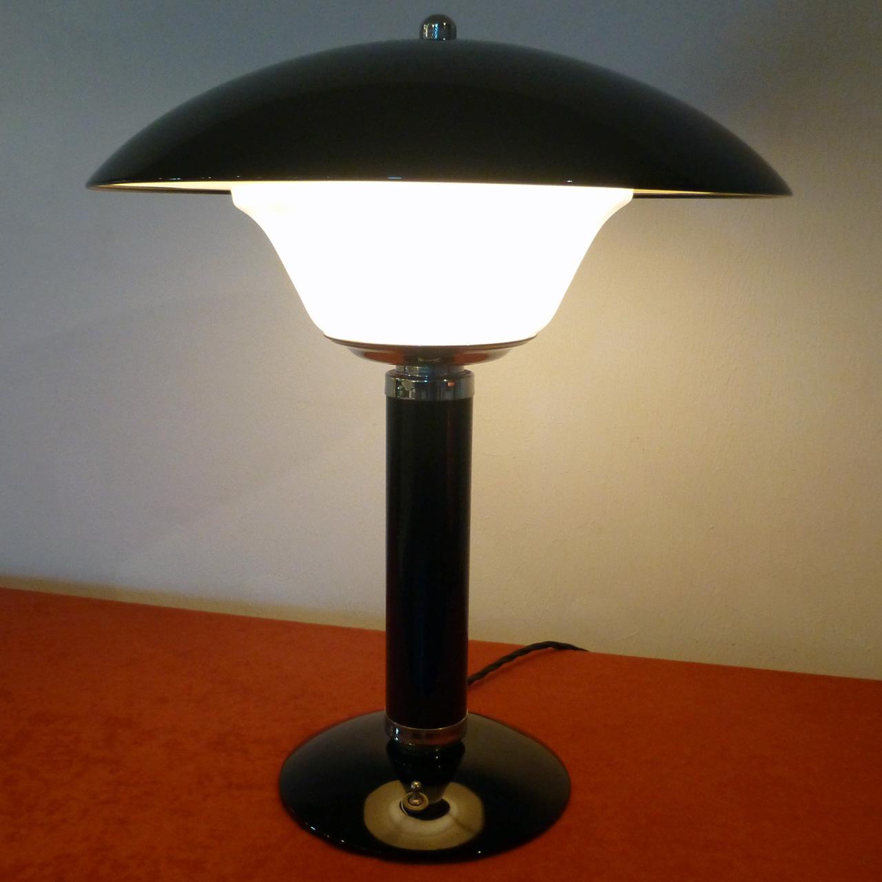 Art Deco Lampe Schirm