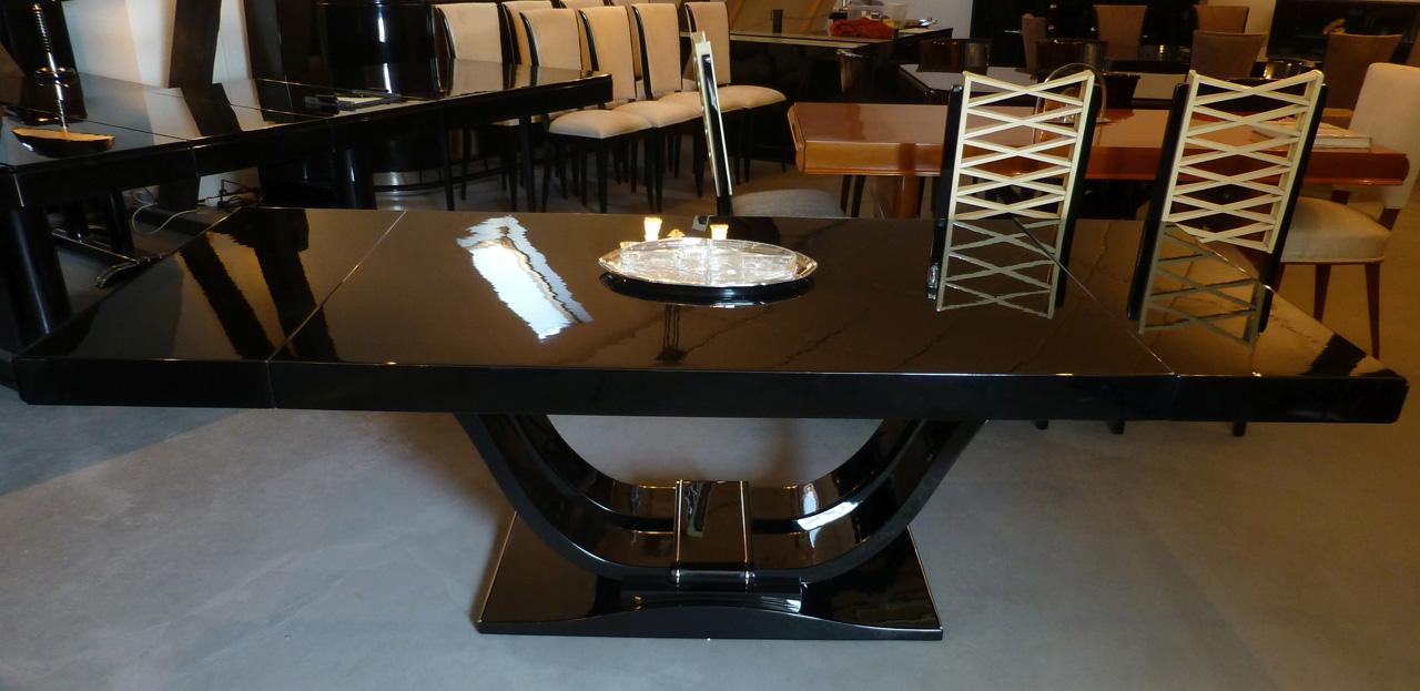 3405 Art Deco Tisch ausgezogen - Ambientebild